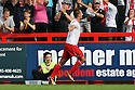 Filipe Morais of Stevenage celebrates scoring their third goal<br />  Stevenage v Oldham Athletic - Sky Bet League 1 - Lamex Stadium, Stevenage - 3rd August, 2013<br />  © Kevin Coleman 2013