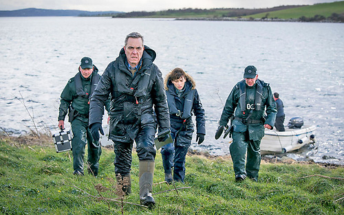 BBC1's Bloodlands stars James Nesbitt and was filmed on Srangford Lough
