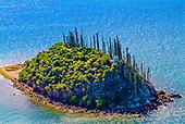 Ilot Porc epic, lagon Sud