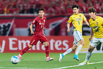 Shanghai FC Forward Wu Lei (L) during the AFC Champions League 2017 Round of 16 match between Shanghai SIPG FC (CHN) vs Jiangsu FC (CHN) at the Shanghai Stadium on 24 May 2017 in Shanghai, China. Photo by Marcio Rodrigo Machado / Power Sport Images
