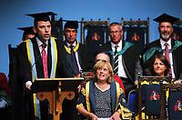 Monday 03 July 2017<br /> UWTSD Graduation ceremony at the University of Wales Trinity Saint Davids, Carmarthen Campus, Wales, UK