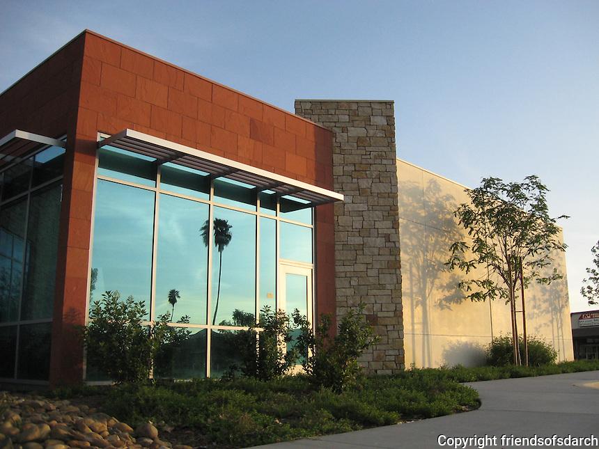 Sun City Library, Sun City, CA. Opened in Feb. 2010. Audrey Stratton, Architect.
