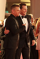"""Venice, Italy - September 10: Matt Damon and Kevin J. Walsh attend the Red Carpet of 20th Century Studios' movie """"The Last Duel"""" during the 78th Venice International Film Festival on September 10, 2021 in Venice, Italy. <br /> CAP/MPI/AF<br /> ©AF/MPI/Capital Pictures"""