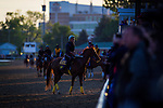 LOUISVILLE, KY - MAY 04: Scenes at morning workouts for the Kentucky Derby at Churchill Downs on May 04, 2016 in Louisville, Kentucky. (Photo by Zoe Metz/Eclipse Sportswire/Getty Images)