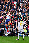 Ferland Mendy of Real Madrid and Felipe Augusto de Almeida of Atletico de Madrid during La Liga match between Real Madrid and Atletico de Madrid at Santiago Bernabeu Stadium in Madrid, Spain. February 01, 2020. (ALTERPHOTOS/A. Perez Meca)