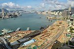 A wide angle view of Hong Kong's Victoria Harbour during the 2011 Red Bull Dragon Run. Photo © Raf Sanchez / Red Bull