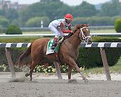 D'Funnybone, who made his bones in Saratoga last summer, powered to victory in the Woody Stephens, defeating a nice field of sprinters, including Eightyfiveinafifty, for trainer Richard Dutrow and jockey Edgar Prado.
