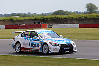Rounds 3,4 & 5 of the 2020 British Touring Car Championship.  #16 Aiden Moffat. Laser Tools Racing. Infiniti Q50.