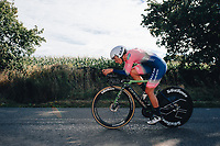 6th October 2021 Womens Cycling Tour, Stage 3. Individual Time Trial; Atherstone to Atherstone. Margaux Vigie.
