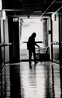 1989 FILE PHOTO - ARCHIVES -<br /> <br /> The Christmas season is a lonely time for some seniors.