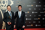 "Matias Prats attends ""Iris Academia de Television' awards at Nuevo Teatro Alcala, Madrid, Spain. <br /> November 18, 2019. <br /> (ALTERPHOTOS/David Jar)"
