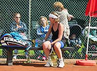 August 24, 2014, Netherlands, Amstelveen, De Kegel, National Veterans Championships, Mireille Bink (NED)<br /> Photo: Tennisimages/Henk Koster