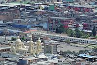 BOGOTÁ -COLOMBIA. Aspecto panorámico de la iglesia La Sagada Pasión en el centro de la ciudad de Bogotá, Colombia./ Aspect of La Sagrada Pasion church in downtown Bogota, Colombia. Photo: VizzorImage/  Str