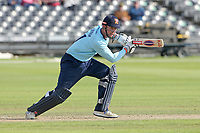 Simon Harmer in batting action for Essex during Gloucestershire vs Essex Eagles, Royal London One-Day Cup Cricket at the Bristol County Ground on 3rd August 2021