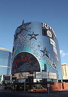 LAS VEGAS-ESTADOS UNIDOS. El clasico casino Riviera de Las Vegas, sitio mas visitado por  turistas y residentes americanos. Photo: VizzorImage