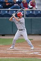 September 1, 2009: Vancouver Canadians' Ryne Jernigan at-bat during a Northwest League game against the Everett AquaSox at Everett Memorial Stadium in Everett, Washington.