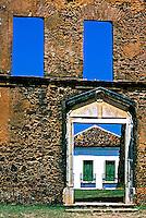 Cidade histórica de Alcântara, Maranhão. 2001. Foto de Rogério Reis.