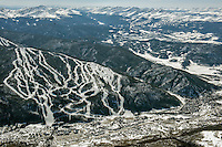 Keystone Ski Resort with Breckenridge in background