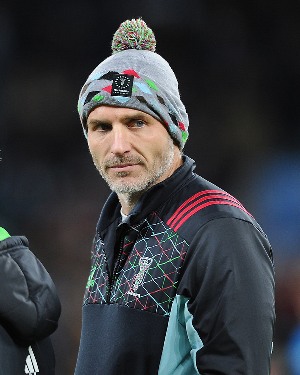 Paul Gustard, Harlequins Head of Rugby. during Big Game 11, the Gallagher Premiership Rugby match between Harlequins and Wasps, at Twickenham Stadium on Saturday 29th December 2018 (Photo by Rob Munro/Stewart Communications)