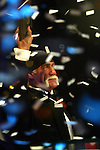 4/2/05,Los Angeles,California --- Hulk Hogan is inducted into the WWE Hall of Fame during ceremonies at Universal Amphitheatre.  ---  Chris Farina