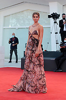 US model Taylor Marie Hill arrives for the opening ceremony and the screening of the film Lacci on the opening day of the 77th Venice Film Festival, on September 2, 2020 at Venice Lido, during the COVID-19 infection, caused by the novel coronavirus. PUBLICATIONxNOTxINxUSA Copyright: xAnnalisaxFlori/MediaPunchx <br /> ITALY ONLY