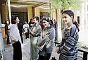 Irak 2000.Etudiantes de l'université d'Erbil.    Iraq 2000.Students of Erbil's university