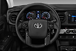 Car pictures of steering wheel view of a 2018 Toyota Tacoma SR Access Cab 4x2 4-Cyl Auto Long Bed 4 Door Pick Up