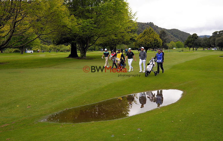 on day one of the 2017 Asia-Pacific Amateur Championship day one at Royal Wellington Golf Club in Wellington, New Zealand on Thursday, 26 October 2017. Photo: Dave Lintott / lintottphoto.co.nz