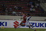 Laos vs Timor-Leste during their AFF Suzuki Cup 2010 Qualification match at National Sports Complex on 26 October 2010, in Vientiane, Laos. Photo by Stringer / Lagardere Sports