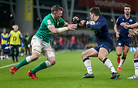 Saturday 1st February 2020 | Ireland vs Scotland<br /> <br /> Peter O'Mahony during the 2020 6 Nations Championship   clash between Ireland and Scotland at he Aviva Stadium, Lansdowne Road, Dublin, Ireland. Photo by John Dickson / DICKSONDIGITAL