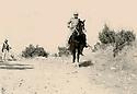 Iraq 1962.In Qara Dagh, sheikh Mohamed Kasnazani on an horse