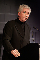 Gilles Duceppe, Leader of the Bloc Quebecois<br /> speak about the environment and Canada's future at <br /> COLLOQUE 2007 - Batissons l'avenir. February 3rd 2007 in Montreal.<br /> Photo :P. Roussel -  Images DistributionGilles Duceppe