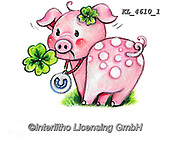 NY, paintings+++++,KL4610/1,#ny#, EVERYDAY ,sticker,stickers, new year's eve ,pig,pigs