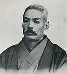 Undated - Yanosuke Iwasaki (1851-1908) was a Japanese financier and the second president of Mitsubishi Group. Mitsubishi Group was first established as a shipping firm by Yataro Iwasaki, Yanosuke's big brother in 1870.  (Photo by Kingendai Photo Library/AFLO)