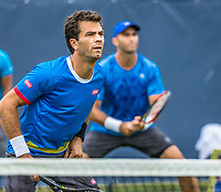Den Bosch, Netherlands, 13 June, 2017, Tennis, Ricoh Open, Men's doubles, Jean-Julien Rojer (NED) / Horia Tecau (ROU) (R)<br /> Photo: Henk Koster/tennisimages.com