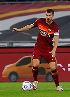 Roma s Edin Dzeko in action during the Serie A soccer match between Roma and Benevento at Rome's Olympic Stadium, October 18, 2020.<br /> UPDATE IMAGES PRESS/Riccardo De Luca