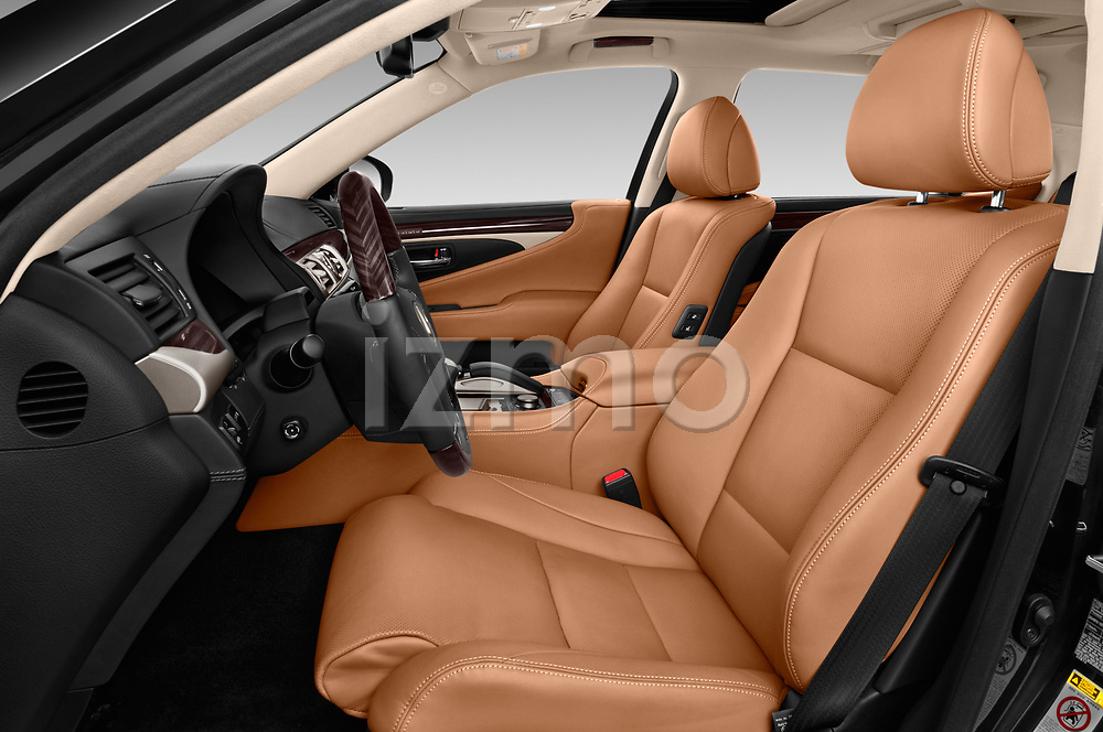 Front seat view of 2016 Lexus LS 600H-L-President-Line 4 Door Sedan Front Seat  car photos