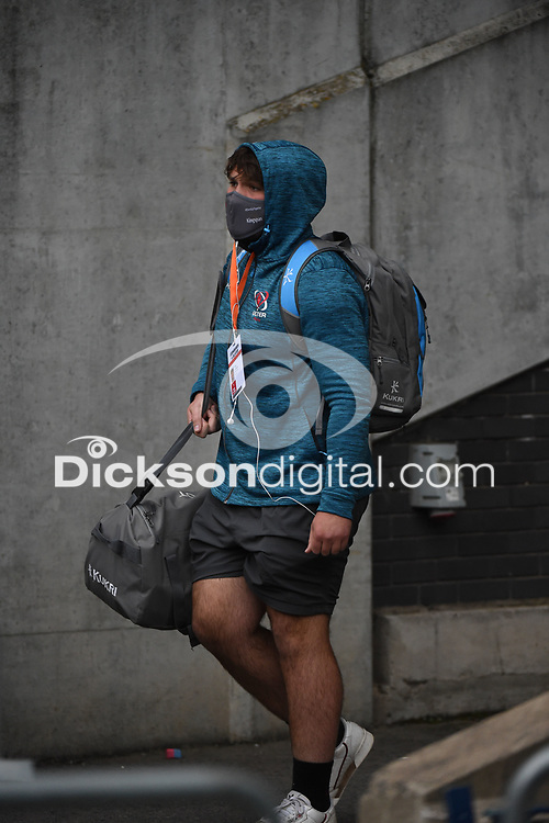 Saturday 5th September 2020 | PRO14 Semi-Final<br /> <br /> Tom O'Toole arrives for the Guinness PRO14 Semi-Final between Edinburgh and Ulster at the BT Murrayfield Stadium Edinburgh, Scotland. Photo by David Gibson / Dicksondigital