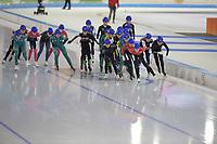 SCHAATSEN: HEERENVEEN: 28-12-2020, IJsstadion Thialf, WK Kwalificatie, ©foto Martin de Jong