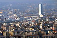 - Marsiglia, panorama della città con la torre CMA CGM <br /> <br /> <br /> <br /> - Marseille, panorama of the city with tower CMA CGM