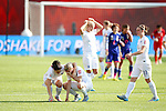 Laura Bassett (ENG), JULY 1, 2015 - Football / Soccer : Laura Bassett of England looks dejected after losing the FIFA Women's World Cup Canada 2015 Semi-final match between Japan 2-1 England at Commonwealth Stadium in Edmonton, Canada. (Photo by AFLO)