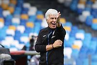 Gian Piero Gasperini coach of Atalanta BC \grsti\<br /> during the Serie A football match between SSC Napoli and Atalanta BC at stadio San Paolo in Napoli (Italy), October 17th, 2020. <br /> Photo Cesare Purini / Insidefoto