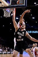 New Zealand Tall Blacks' Tom Vodanovich in action during the FIBA World Cup Basketball Qualifier - NZ Tall Blacks v Syria at TSB Bank Arena, Wellington, New Zealand on Sunday 2 2018. <br /> Photo by Masanori Udagawa. <br /> www.photowellington.photoshelter.com