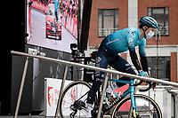 2019 Liège winner Jakob Fuglsang (DEN/Astana - Premier Tech) at the race start<br /> <br /> 107th Liège-Bastogne-Liège 2021 (1.UWT)<br /> 1 day race from Liège to Liège (259km)<br /> <br /> ©kramon
