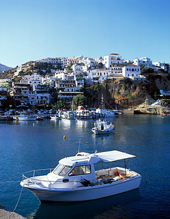 Griechenland, Kreta, Agia Galini: Hafen | Greece, Crete, Agia Galini: harbour