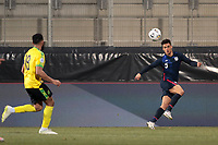 WIENER NEUSTADT, AUSTRIA - MARCH 25: Antonee Robinson #5 of the United States during a game between Jamaica and USMNT at Stadion Wiener Neustadt on March 25, 2021 in Wiener Neustadt, Austria.