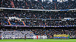 Team Real Madrid and UD Las Palmas line up prior to the La Liga 2017-18 match between Real Madrid and UD Las Palmas at Estadio Santiago Bernabeu on November 05 2017 in Madrid, Spain. Photo by Diego Gonzalez / Power Sport Images