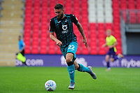 Borja of Swansea City in action during the pre season friendly match between Exeter City and Swansea City at St James Park in Exeter, England, UK. Saturday, 20 July 2019