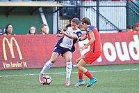 Portland, OR - Saturday July 22, 2017: Arielle Ship during a regular season National Women's Soccer League (NWSL) match between the Portland Thorns FC and the Washington Spirit at Providence Park.