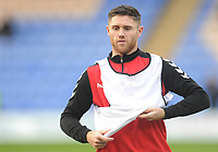 Fleetwood Town's Wes Burns during the pre-match warm-up <br /> <br /> Photographer Kevin Barnes/CameraSport<br /> <br /> The EFL Sky Bet League One - Shrewsbury Town v Fleetwood Town - Tuesday 1st January 2019 - New Meadow - Shrewsbury<br /> <br /> World Copyright © 2019 CameraSport. All rights reserved. 43 Linden Ave. Countesthorpe. Leicester. England. LE8 5PG - Tel: +44 (0) 116 277 4147 - admin@camerasport.com - www.camerasport.com